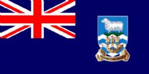 "FALKLAND ISLANDS (FALKLANDS) - 18"" X 12"" FLAG"